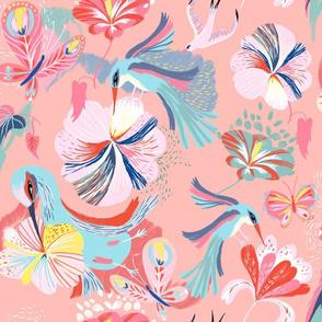 pollinators rose