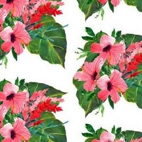 "4"" Tropical Hibiscus Bunch"