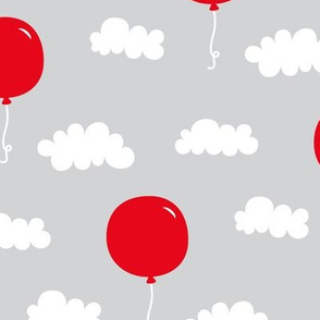 red balloons med || canada day canadian july 1st