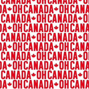 oh canada maple leafs uppercase || canada day canadian july 1st