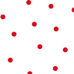 mixed polka dots lg || canada day canadian july 1st