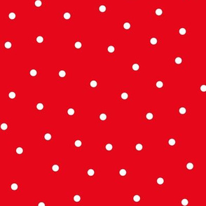 mixed polka dots med reversed || canada day canadian july 1st