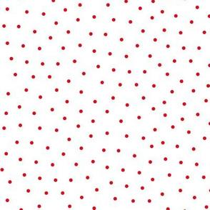 mixed polka dots sm || canada day canadian july 1st