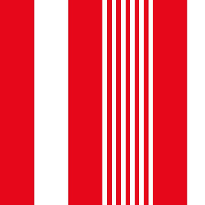 turkish stripes vertical || canada day canadian july 1st