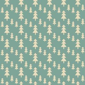 pine trees teal-7
