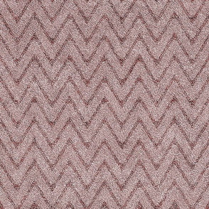 Dusty Pink and Maroon Velvet Chevron