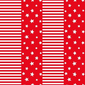 stars and stripes sm reversed || canada day canadian july 1st