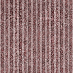 Dusty Pink and Maroon Velvet Stripes