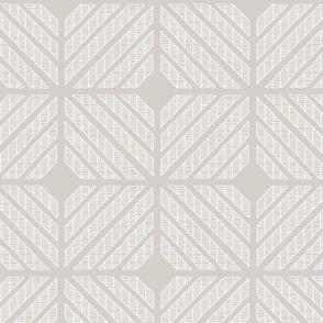 Squares // white on grey