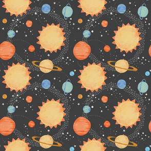 Our Solar System Pattern