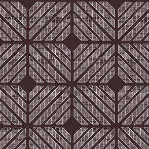 Squares // white on black