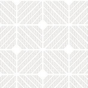 Squares // grey on white