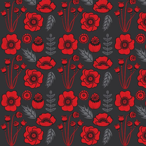 Solvej Cannell_ Red Poppy Pattern