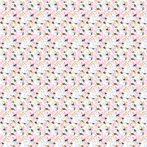 spring rose-micro fabric by crystal_walen on Spoonflower - custom fabric