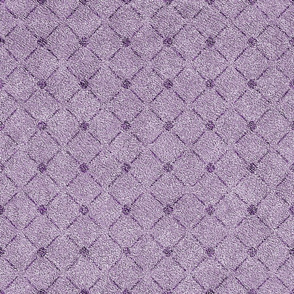 Dusty Lilac and Grape Velvet Lattice