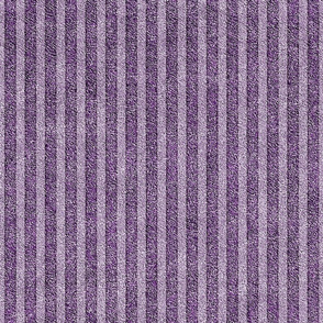 Dusty Lilac and Grape Velvet Stripes