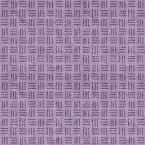 Dusty Lilac and Grape Velvet Weave