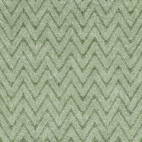 Dusty Sage Green Velvet Chevron