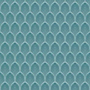 Deco Pattern Teal 2