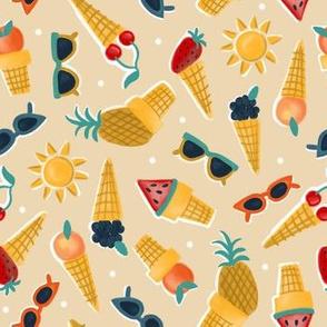 Sweet Summer Cones