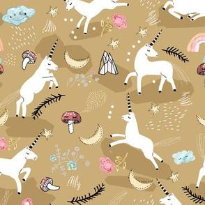 Unicorn Lullaby (gold)