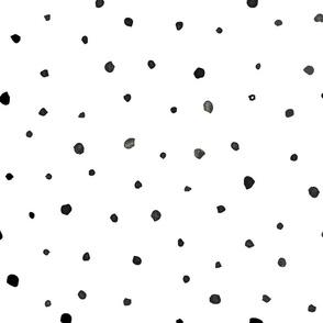 Watercolour spots abstract comp dots