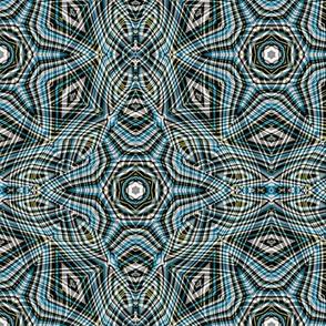 contemporary layers in retro colors