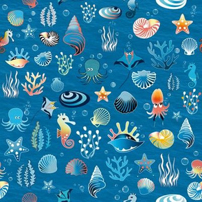 playful sea life