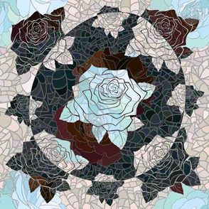 Magic Rose Tiles #3