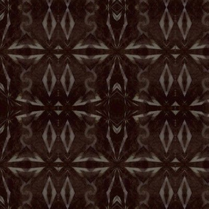 Digital Shibori in walnut and oak stain
