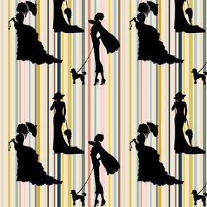 Timeless Fashion Ladies - on trend stripes