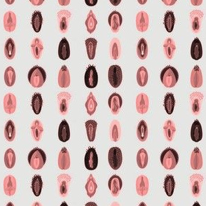 Variety of Vulva's- Natural