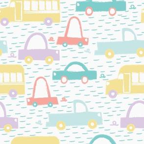 Pastel Vehicles Medium