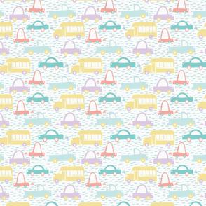 Pastel Vehicles Mini