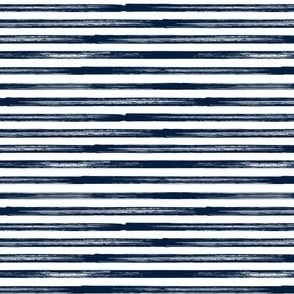 (small scale) Marker Stripes - navy C19BS