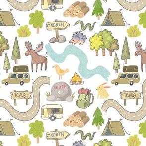 Doodle Camping Trip