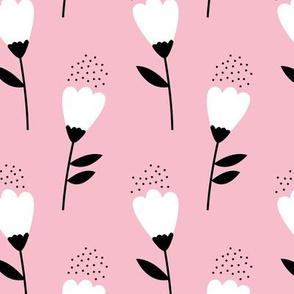 Romantic cotton balls flowers boho gipsy summer blossom pink JUMBO