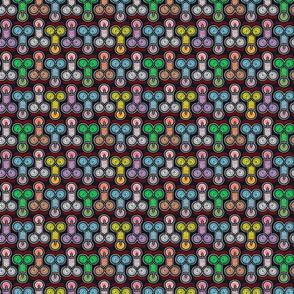 colorful phalic circles