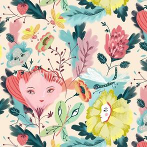 blooming creatures