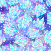 Pastel Galaxy Crystal Healing