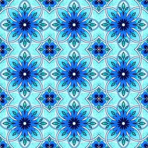 Blue Splendor Tiles