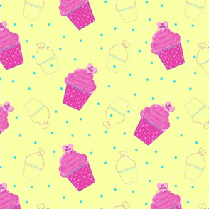 Be Mine Cupcake - Large