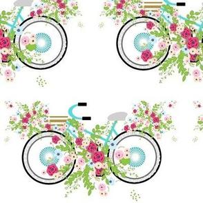 beach bike bouquet spray - mint XL 742