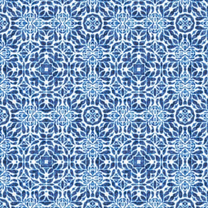 Bethany Tile, Blue, medium