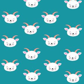 Baby Goat Turquoise