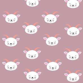 Baby Goat Pale Pink