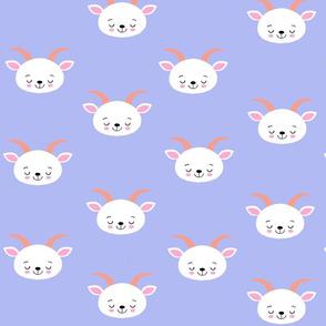 Baby Goat Purple