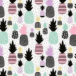 Pastel tropical hawaiian summer sweet kawaii pineapple fruit for girls