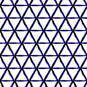 Shibori hexagon