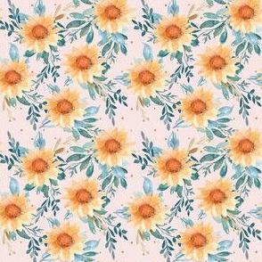"3"" Harvest Sunflowers"